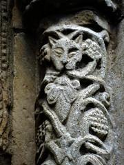 Rous Lench, Worcestershire (Sheepdog Rex) Tags: greenman greenbeasts stpeterschurch rouslench