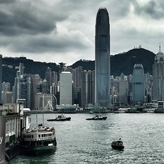 Never get tired of this Skyline #HongKong