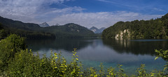 Alpsee lake, Bavaria,Germany (Lucie van Dongen) Tags: germany bavaria alpsee neuschwanstein lake reflection colours mountains landscape scenery paisaje paysage allemagne bavire