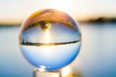 _MG_0371 (AdamFejes) Tags: glass globe glassglobe pointofview light sun summer blackandwhite bw colour city budapest danube sunset