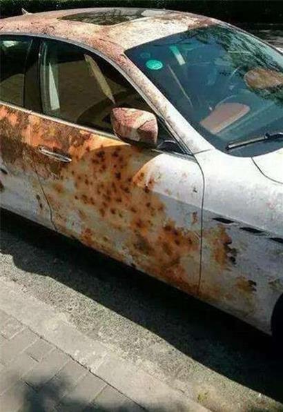 看上去一坨破銅爛鐵,實際上卻是...?!史上最強防盜技術,快學起來,從此愛車連車險都免繳了
