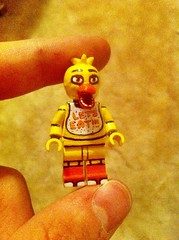 Chica V.2 (TheEleH) Tags: chica fnaf fivenightsatfreddys custom lego