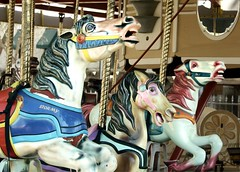 Frozen In Time (Boyce Duprey) Tags: hanford california frozenintime flickrfriday ride horses merrygoround allanherschell