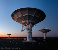 SKA Mushrooms (Panorama Paul) Tags: paulbruinsphotography wwwpaulbruinscoza southafrica greatkaroo ska squarekilometrearray carnarvon radiotelescope kat7 meerkat sunset nikond800 nikkorlenses nikfilters panorama