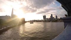 Thames View (Larterman) Tags: thames tower bridge london londoncity londonsunset shard