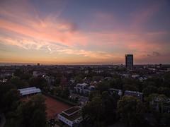 First Steps in the Sky (Blende4.0) Tags: duesseldorf dsseldorf aerial drone dji phantom drohne sky sunset germany