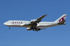 Qatar Amiri Flight   B747-8KB(BBJ)   A7-HHE (Globespotter) Tags: pariscdg qatar amiri flight b7478kbbbj a7hhe