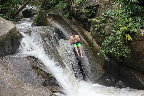 Waterfall Gliding
