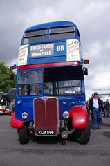 IMGP4824 (Steve Guess) Tags: bus rally show england gb uk browns blue rt aec regent