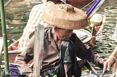 Floating Market (SleekViv) Tags: river thailand nikon floatingmarket d90
