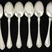 "2042. Set of (10) Alvin ""Melrose"" Sterling Tablespoons"