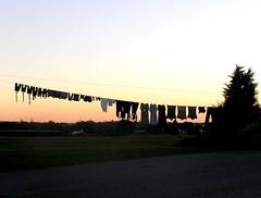 October Washday (mudder_bbc) Tags: sunset landscape clothing pennsylvania amish wash laundry lancastercounty washing birdinhand washday washingday plainpeople