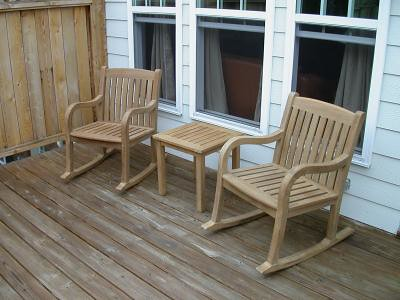 Teak Rocking Chairs (Atlanta Teak Furniture) Tags: Chairs Outdoor Furniture  Patio Rocking Teak