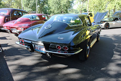 1967 Chevrolet Corvette Sting Ray Sport Coupe (5 of 5) (myoldpostcards) Tags: auto cars chevrolet car sport illinois classiccar automobile gm stingray antiquecar tail havana il 2nd chevy 1967 second riverfront 10th annual autos oldcar corvette c2 coupe generation carshow vette taillights taillight sportscar rearend backend generalmotors 2door highperformance motorvehicle cruisein 81112 collectiblecar 2seat worldcars twoseat myoldpostcards vonliski august112012