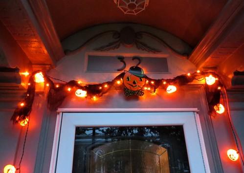 Halloween Outdoor Lights Detail