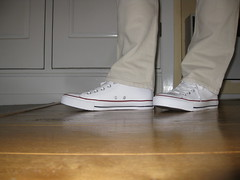 Converse All Star Hi White (2012) 18 (dmboots) Tags: white star all converse hi chucks