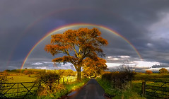 Double Rainbow (David Alexander Elder) Tags: uk storm david nature beautiful rain clouds landscape scotland rainbow unitedkingdom awesome escocia double best schottland schotland ecosse scozia skotlanti skotland   skotsko    kotska kotija   alexanderelder eskosya