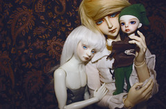 The ones with Faces. (Lady Beriadanwen) Tags: bjd dollfie zi luo iraki dollzone lankui