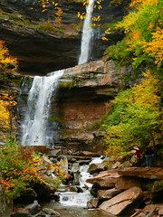 Catskill Falls (M.Christian) Tags: autumn trees ny newyork color tree slr fall nature colors digital canon eos 50mm photo image picture photograph dslr 50d niftyfifty