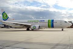 Transavia France - F-GZHE (Andrew_Simpson) Tags: uk france holland netherlands dutch plane airplane french sussex aircraft thenetherlands aeroplane apron boeing gatwick transavia 737 lgw 737800 gatwickairport londongatwick egkk londongatwickairport transaviafrance fgzhe