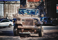 Mud lovers dream (VLADIMIR NAUMOFF) Tags: canada jeep quebec montreal vladimir naumoff