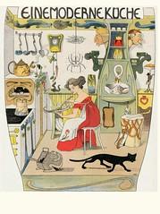 Eine Moderne Küche 1902
