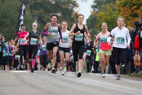 Shock Absorber Women Only 10K Start - Richmond Park October 2012