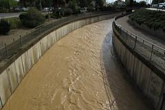 Lluvia en Huesca (9455) (JeromesPOF) Tags: rain river spain huesca flood espana aftertherain heavyrain hardrain despuesdelalluvia hinundacion