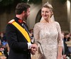The official wedding of Crown Prince Guillaume of Luxembourg and Countess Stephanie de Lannoy at the Cathedral of Our Lady in Luxembourg - Gala Luxembourg