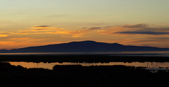 Solway Sunset (Graham Maxwell) Tags: uk sunset sea england water estuary shore cumbria solway criffel firth bowness marshes solwayfirth cardunnock
