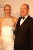 Prince Albert II and Princess Charlene of Monaco Princess Grace Awards Gala held at the Cipriani New York City