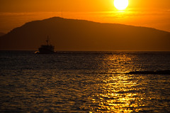 In Time for Dinner, Sucia Island, San Juan Islands (tacoma290) Tags: statepark sunset vacation island bay boat nikon cruising pacificnorthwest pugetsound sanjuanislands pnw suciaisland nordictug intimefordinnersuciaislandsanjuanislands