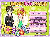 一流的約會裝扮(Famous Date Dress Up)
