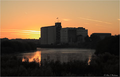 A New Day Is Born (roddersdad) Tags: sunrise mills 2012 rivertrent industrialbuildings inlandwaterways spillersmill kerrysmill stoneybight wwwimagesbyclivecouk copyrightclivejmaclennan canonpowershotg1x