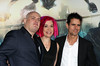 Andy Wachowski, Lana Wachowski and Tom Tykwer Premiere of 'Cloud Atlas' at Grauman's Chinese Theatre Hollywood