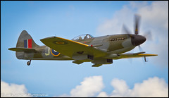 SUPERMARINE SPITFIRE F XIV DUXFORD (Wings & Wheels Photography.) Tags: england canon wwii duxford spitfire dslr bdp cambridgeshire worldwar2 2012 imperialwarmuseum battleofbritain iwm thefew aviationphotography flyinglegendsairshow canoneos7d bluediamondphotographic supermarinespitfirefxiv