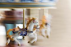 Carrousel (Francisco Javier Periñán Delgado) Tags: horse caballo movement nikon carousel movimiento nikkor panning carrousel caballito carrusel 55200 barrido d5100
