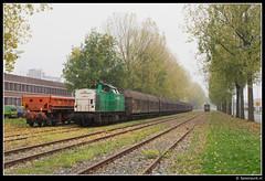 CT 101 - Utrecht Lage Weide (Spoorpunt.nl) Tags: oktober weide utrecht v100 101 het 24 blaadjes op rts papier lage trein spoor 2012 51000 bladeren hersft eamos 51001 captrain