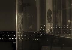 Gekreuzigter - Maria Grn - Prater (hedbavny) Tags: vienna wien reflection ava statue austria licht sterreich kerzenlicht fenster interieur jesus kirche kerze kreuz spiegelung glas prater heilig kapelle gekreuzigter maigrn mariagrn jesusamkreuz