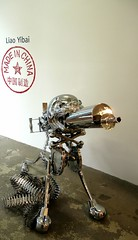 Liao Yibai: MADE IN CHINA (neppanen) Tags: china sculpture usa newyork art america chelsea gallery manhattan exhibition galleria taide veistos nyttely kuvataide discounterintelligence mikeweissgallery sampen liaoyibai