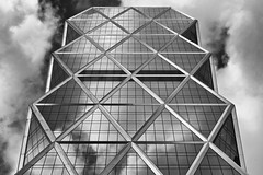 Hearst Tower NYC  - B&W (1982Chris911 (Thank you 1.250.000 Times)) Tags: nyc newyorkcity sky blackandwhite bw usa white newyork black skyline architecture brooklyn america us blackwhite cosmopolitan skyscrapers unitedstates manhattan unitedstatesofamerica midtown queens normanfoster newyorkskyline manhattanskyline columbuscircle hearst esquire 8thavenue seventeen marieclaire midtownmanhattan lordfoster goodhousekeeping hearsttower fosterandpartners midtownskyline harpersbazaar manhattannewyork newyorkarchitecture thehearsttower 300west57thstreet newyorkphotography newyorkcityphotography newyorkskyscraper 9598thavenue skylineofnewyork hearsttowernewyork americanycnewyorkcity 1982chris911 christiankrieglsteiner christiankrieglsteinerphotography