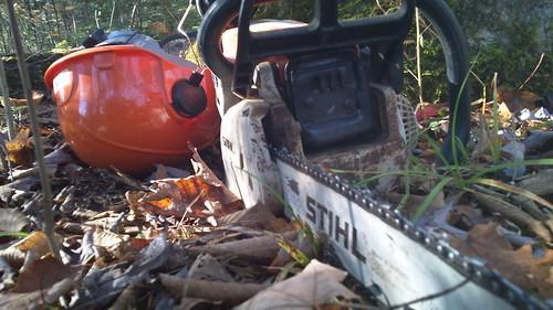 Troubleshooting A Stihl Chainsaw | DIY Forums