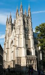Canterbury Cathedral, Canterbury (jacqueline.poggi) Tags: greatbritain england architecture kent cathedral unitedkingdom gothic canterbury cathédrale angleterre gothique canterburycathedral royaumeuni grandebretagne cantorbéry architecturereligieuse
