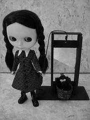 Wednesday Addams and Marie Antoinette - Guillotine Scene