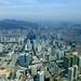 Shenzhen Skyline from 96th Floor Kingkey finance Plaza