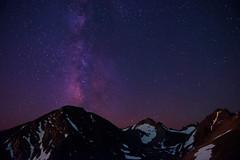 Across the Universe... (Bill Bowman) Tags: nightphotography stars colorado rockymountains milkyway indianpeaks niwotridge greenlakesvalley arikareepeak kiowapeak