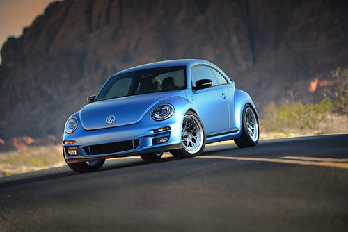 VWvortex debuts Super Beetle at 2012 SEMA