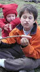 L1140596 (Ingrid Booz Morejohn) Tags: china travel camping horses tourism tents buddhist muslim tibet alpine songpan tibetan sichuan crossroads horseback naturalwonders highaltitude borderlands campingout ponytrekking horsetrekking munigou travellingwithchildren