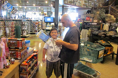 Uncle Trevor & Jacques shopping Bass Pro Shop (BarryFackler) Tags: vacation retail shopping store fishing hunting shoppingcart iowa ia cart proshop 2012 familyvacation bassproshop councilbluffs fishingtackle fishinggear councilbluffsia councilbluffsiowa sportinggoodsstore outdoorsstore barryfackler barronfackler jacquesliquie trevorfellbaum jacquestylerliquie trevorjonfellbaumsr