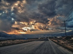 Storm ahead (giorgosgrigoriadis16) Tags: sunset sky mountains clouds canon landscape hellas greece drama roadphoto  mountainslandscape dhrama greeklandscape canonnature dramascenes  canonlandscape canonpowershotg10 powershotg10 prosotsani dramalandscapes canoncloudsandsky cloudsanssky eastmakedonia canonatmosphere menoikio